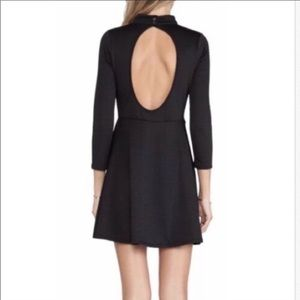 Free People Textured Dress with Peek-A-Back
